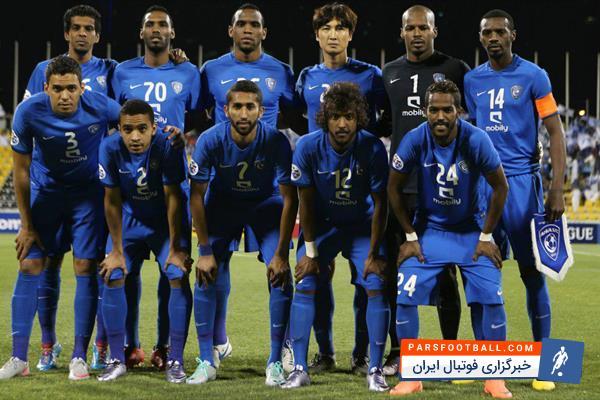 تیم فوتبال الهلال - باشگاه الهلال - الهلال عربستان - الملک سعود - سالم الدوساری - الهلال عربستان