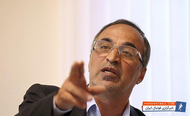 امیر رضا واعظ آشتیانی مدیرعامل پیشین باشگاه استقلال