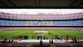 دیدار بارسلونا و لاس پالماس - لیونل مسی