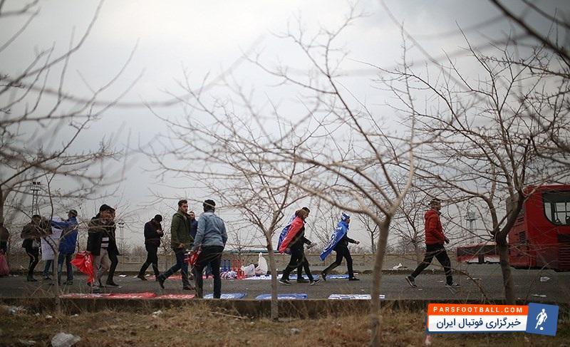 ورزشگاه آزادی ؛ حاشیه پیش از دیدار استقلال و پرسپولیس ؛ پارس فوتبال