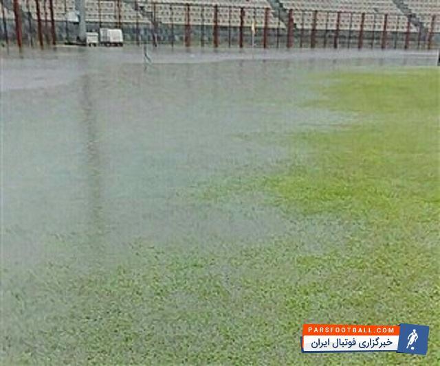 تیم ملوان ؛ به دلیل بارش شدید باران ، ملوان و مس رفسنجان برای دومین بار لغو شد