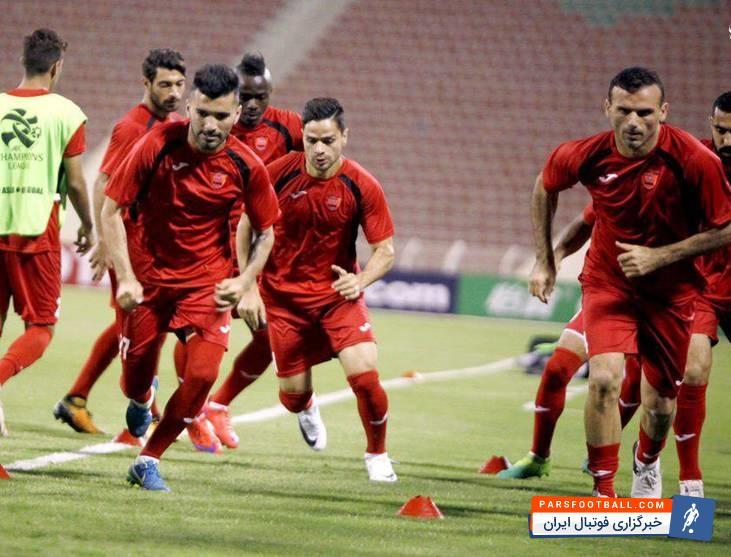 پرسپولیس ؛ گزارش تمرین امروز صبح تیم فوتبال پرسپولیس ؛ پارس فوتبال