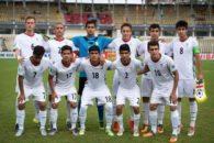 تیم ملی نوجوانان ایران در استخر-تیم ملی فوتبال نوجوانان ایران