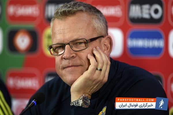اندرسون : در دنیا، چیزی بیش از این که سوئد به جام جهانی 2018 برسد نمی خواهم
