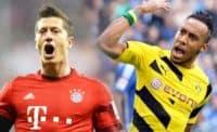 10 گل برتر اوبامیانگ و لواندوفسکی دو ستاره دورتموند و بایرن مونیخ