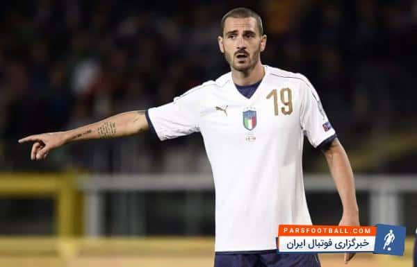 بونوچی مدافع ایتالیا : تویوونن در همان ثانیه 30 بازی، بینی مرا شکست و باید اخراج می شد
