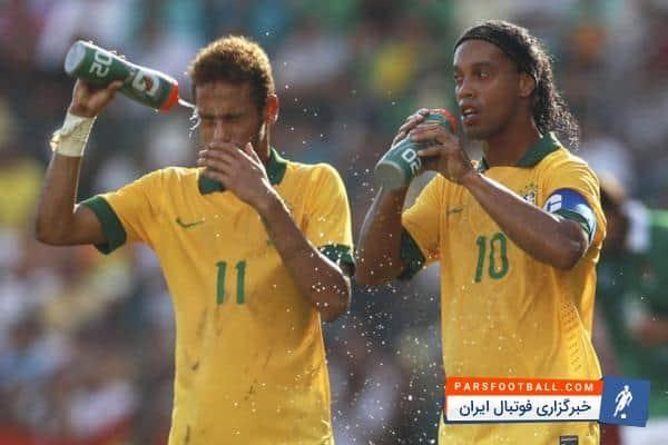 رونالدینیو ؛ اولین گل رونالدینهو در تیم ملی برزیل از زاویه بسته در کوپا آمریکای 1999