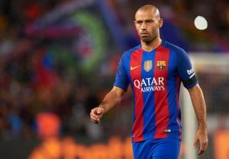 حرکات برتر و تماشایی دفاعی خاویر ماسکرانو در تیم فوتبال بارسلونا اسپانیا
