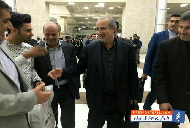 مهدی تاج : بزودي از پیراهن تیم ملی رونمايي ميشود ؛ خبرگزاری فوتبال ایران