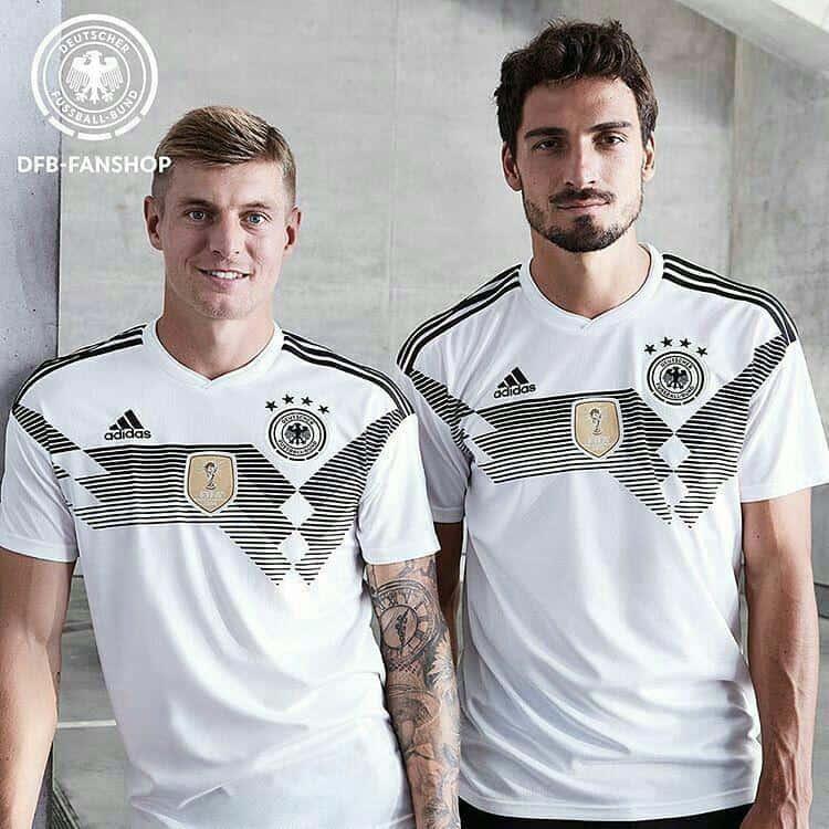 ویدئو از کیت تیم ملی آلمان در جام جهانی 2018 روسیه ؛ پارس فوتبال