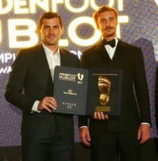 ایکر کاسیاس ، برنده جایزه پای طلایی