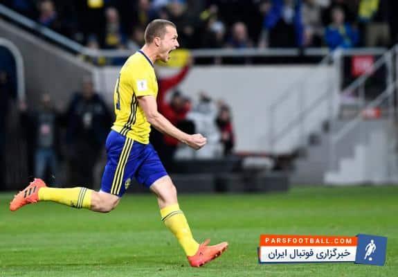 یوهانسون بازیکن سوئد : بونوچی می تواند هر چه که می خواهد، بگوید در حال حاضر ما جلو هستیم