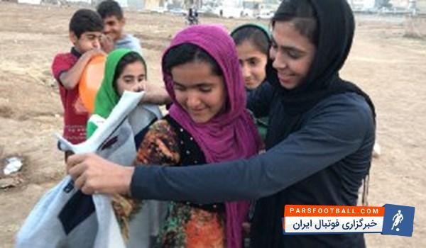 سهیلا منصوریان 30 درصد از مبلغ قرارداد خود را به مردم زلزله زده کرمانشاه اهدا کرد