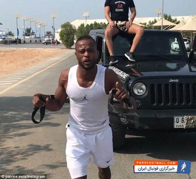 اورا با انتشار تصاویری از کشیدن یک ماشین سنگین با دست در شهر دوبی روحیه خود را نشان داد