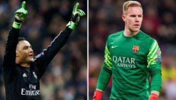 مقایسه عملکرد ناواس دروازه بان رئال در برابر تراشتگن گلر تیم فوتبال بارسلونا