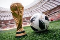 رونمایی از توپ جام جهانی ۲۰۱۸ روسیه با حضور مسی