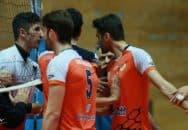 درگیری علیرضا نادی و امیر غفور در حاشیه لیگ برتر والیبال