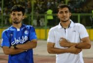 مجید حسینی و امید نورافکندو بازیکن استقلال