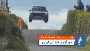 فاصله ی مرگ و زندگی در مسابقات اتوموبیل رانی در سراسر جهان