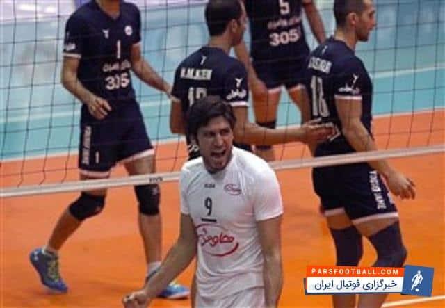 علیرضا نادی : احترامات در والیبال از بین رفته است ؛ خبرگزاری فوتبال ایران