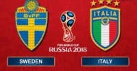 شبیه سازی بازی تیم ملی سوئد و ایتالیا با لگو
