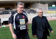 طاهری مدیرعامل مستعفی باشگاه پرسپولیس - برانکو