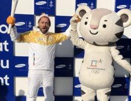 حمل مشعل المپیک زمستانی کره جنوبی توسط بهرام رادان