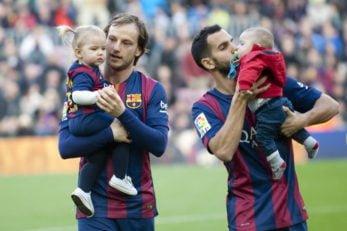 لحظات جالب و تماشایی ستاره های مطرح دنیای فوتبال همراه فرزندانشان