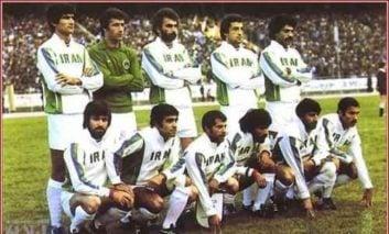 علی پروین وحسن روشن در تبلیغ آدامس خروس جام جهانی ۱۹۷۸