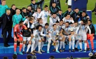 اهدای جام قهرمانی باشگاه های جهان به رئال مادرید