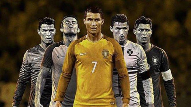 ونالدو ستاره پرتغالی تیم فوتبال رئال مادرید