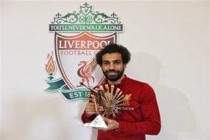 محمد صلاح بهترین بازیکن سال قاره آفریقا