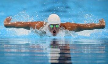 صحنه ای ماندگار در تاریخ مسابقات شنای المپیک