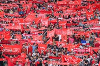 هواداران تیم تراکتورسازی زودتر از پایتخت نشین ها وارد استادیوم آزادی شدند