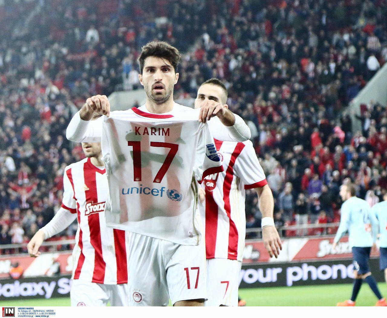 درخشش و دبل کریم انصاری فرد در بازی مقابل آپولون در لیگ یونان