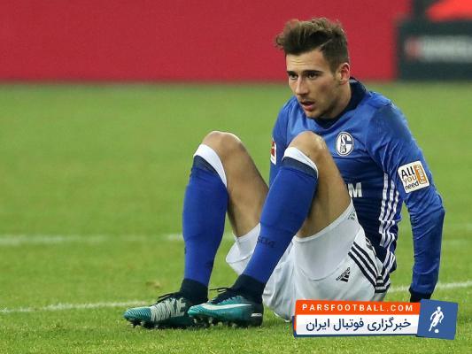 لئون گورتسکا ستاره 22 ساله تیم فوتبال شالکه دوباره مصدوم شده است