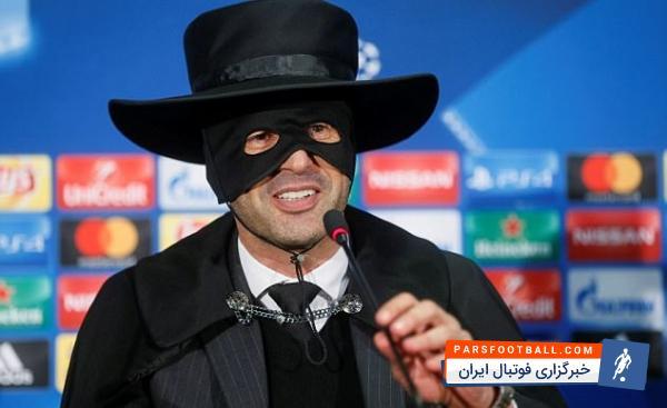 فونسکا سرمربی تیم فوتبال شاختار به قولش برای پوشین نقاب زورو عمل کرد