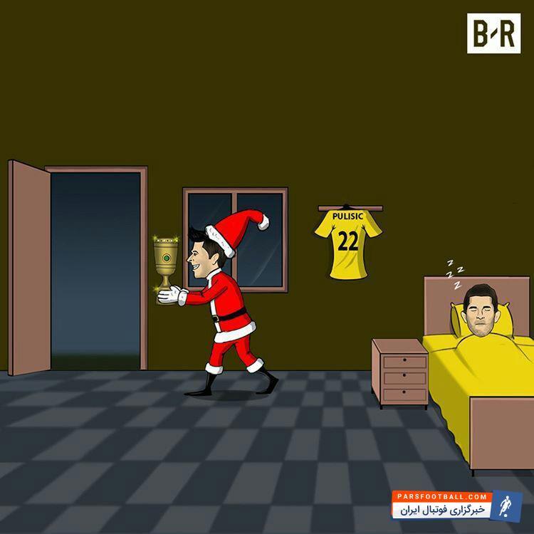 عکس ؛ کاریکاتور ؛ بالاخره بایرن مونیخ در جام حذفی از سد دورتموند گذشت