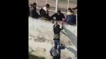 کلیپی جالب از سماجت یک دختر بابلی برای ورود به ورزشگاه