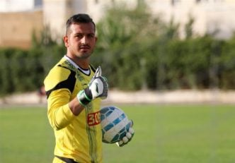 گروسیان دروازه بان تیم تراکتورسازی در بازی با استقلال خوزستان عملکرد خیلی خوبی داشت