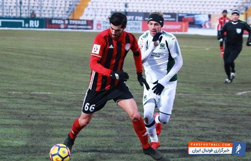 دنیس ماسلوف : مجبور هستیم یکی از بازیکنان در ترکیب اصلی آمکار را کنار بگذاریم ؛ پارس فوتبال