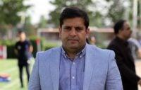 ایزد سیف الله پور سرپرست تیم فوتبال بادران