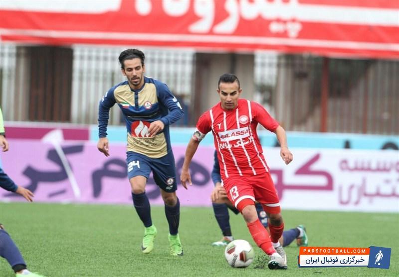 حسین کعبی کاپیتان تیم فوتبال سپیدرود رشت