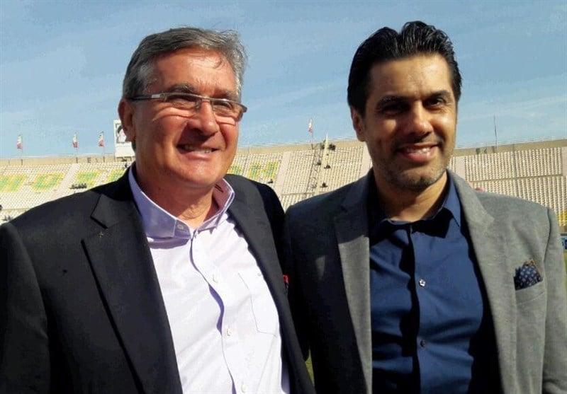 برانکو و پیروانی ؛ بازدید برانکو و پیروانی از ورزشگاه شهید کاظمی