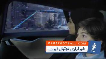 کلیپی جالب از تست تاکسی های بدون راننده در دوبی