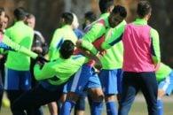 بازیکنان استقلال بعد از 4 روز تعطیلی امروز در زمین شماره 2 آزادی جمع شدند تا خود را آماده بازی با ایرانجوان در مرحله یک چهارم نهایی جام حذفی کنند.