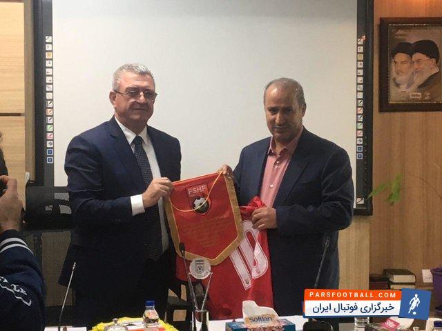 امضا شدن تفاهم نامه فدراسیون فوتبال ایران با فدراسیون فوتبال آلبانی
