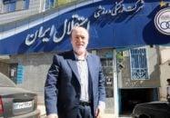 سید رضا افتخاری مدیرعامل باشگاه استقلال