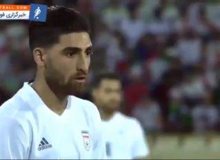 گلچین حرکات برتر بازیکنان دو تیم فوتبال ایران و اسپانیا به بهانه هم گروهی در جام جهانی