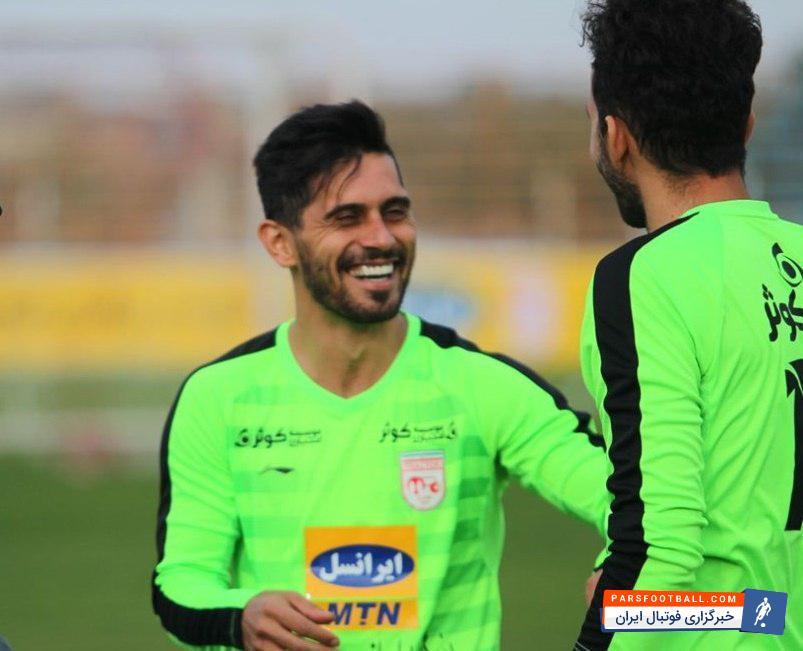 امید عالیشاه بعد از مدتها در تمرین تیم پرسپولیس حاضر شد ؛ خبرگزاری فوتبال ایران